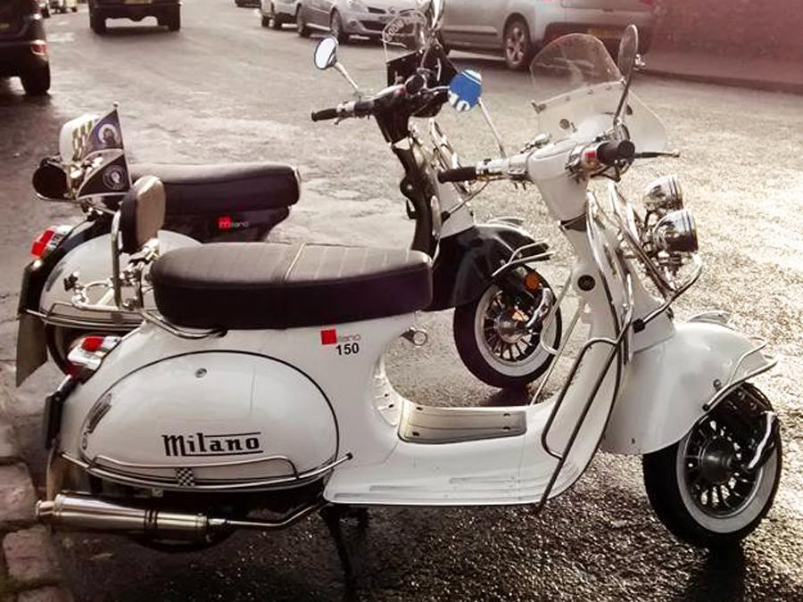 Paul's Lexmoto Milano 150 (reg 125) – Torbay Mods Scooter Club